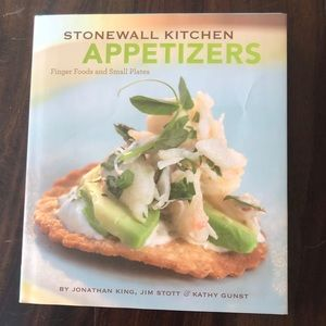 Stonewall Kitchen Appetizers Finger Foods Cookbook